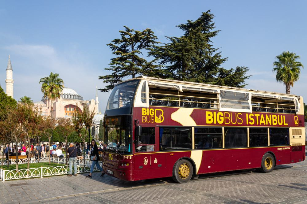 Hop-On Hop-Off Bus in Istanbul
