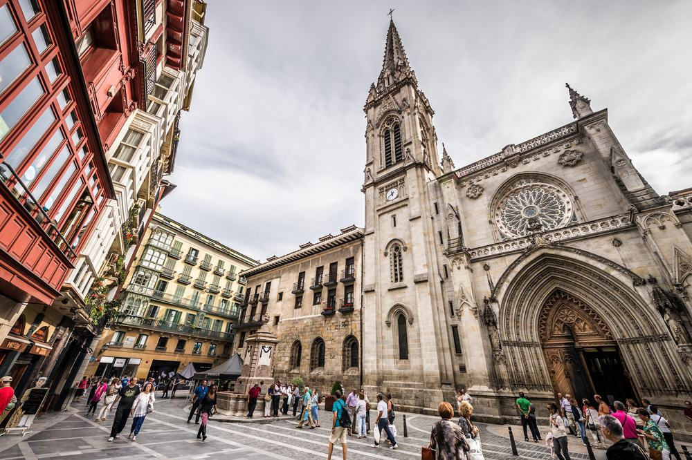 Cathedral of Santiago in Bilbao