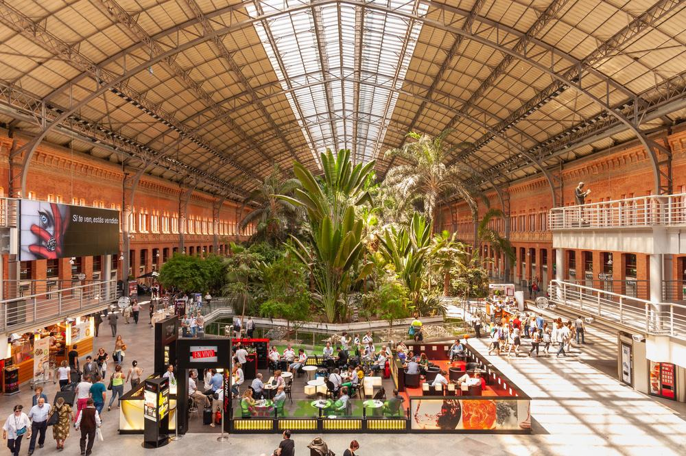Atocha Train Station in Madrid