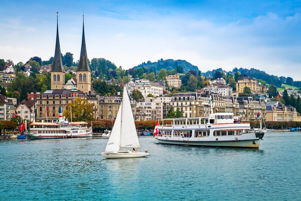 Cityscape of Lucerne