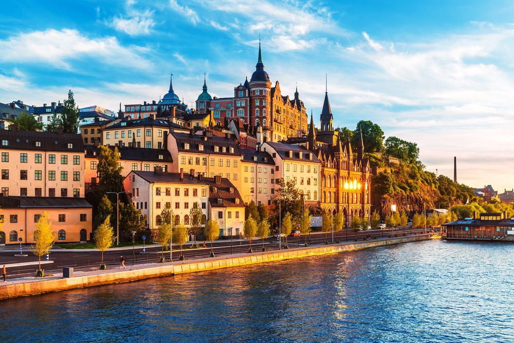 Sodermalm District of Stockholm