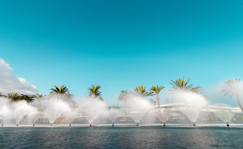 The Fanfare Fountains