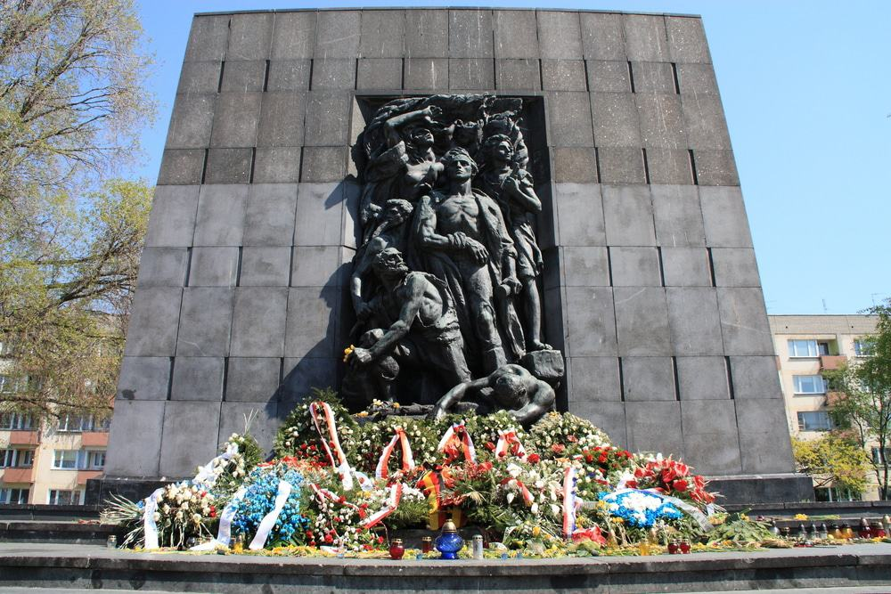 The Ghetto Heroes Monument
