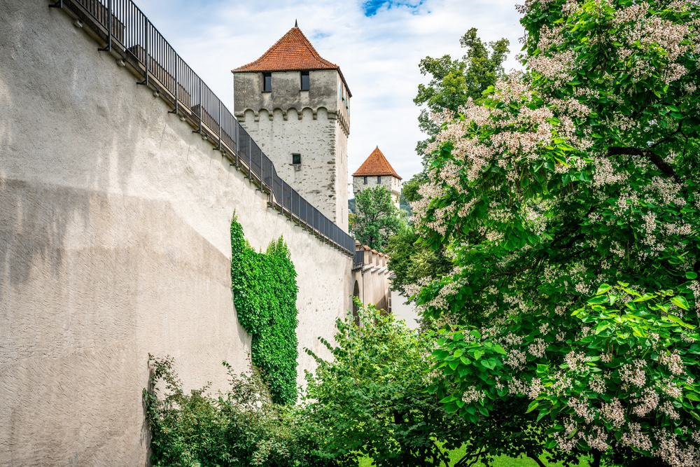 Musegg Wall in Lucerne