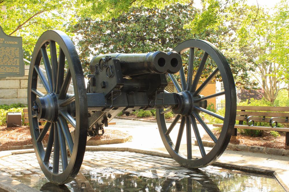 The Athens Double-Barrelled Cannon