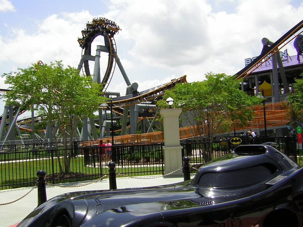 Six Flags Over Georgia Amusement Park