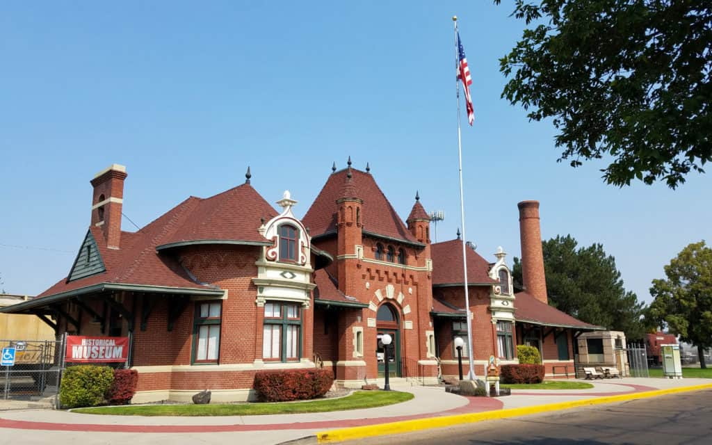 Canyon County Historical Nampa Train Depot Museum
