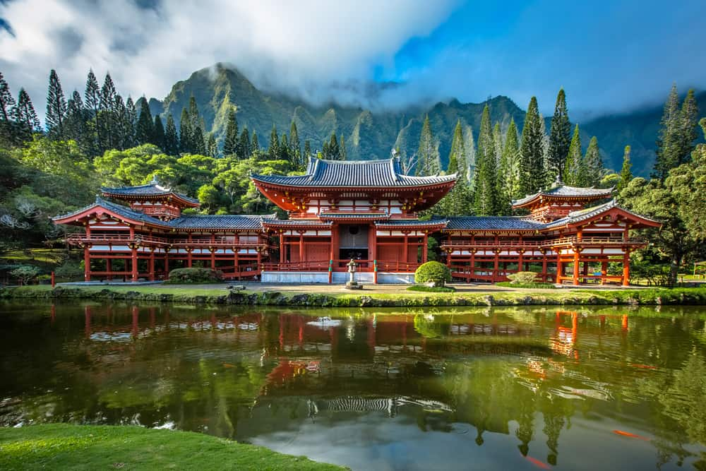Byodo-In Temple, Valley of the Temples