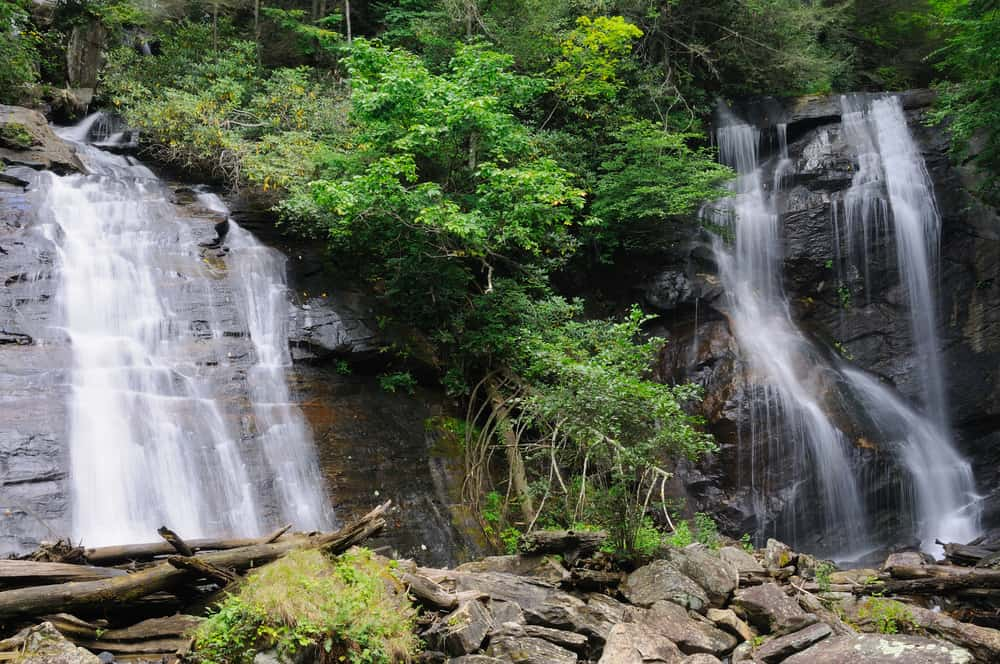 Anna Ruby Falls, Chattahoochee National Forest