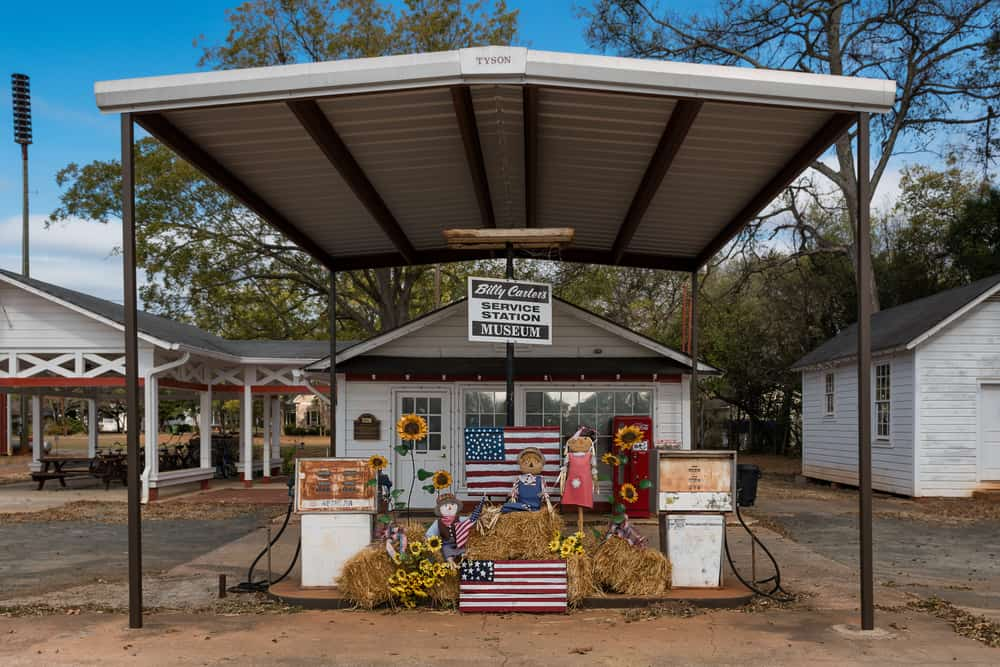 Billy Carter Service Station & Museum