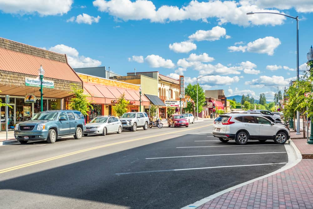 Sandpoint Shopping District