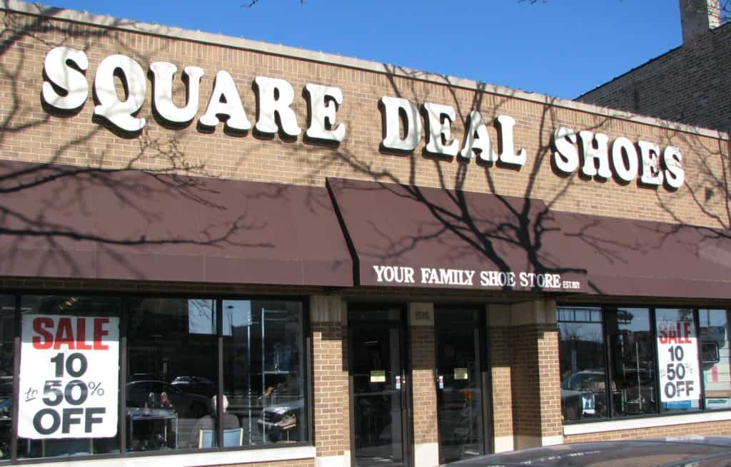 Square Deal Shoe Store