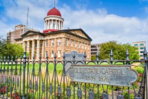 Old State Capitol Historic Site, Springfield