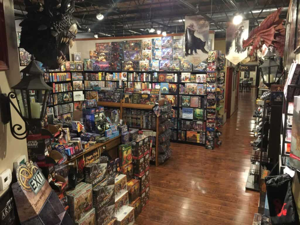 The Wandering Dragon Game Shoppe