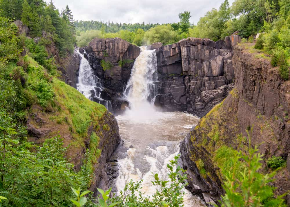 High Falls, Pigeon River, Grand Portage State Park