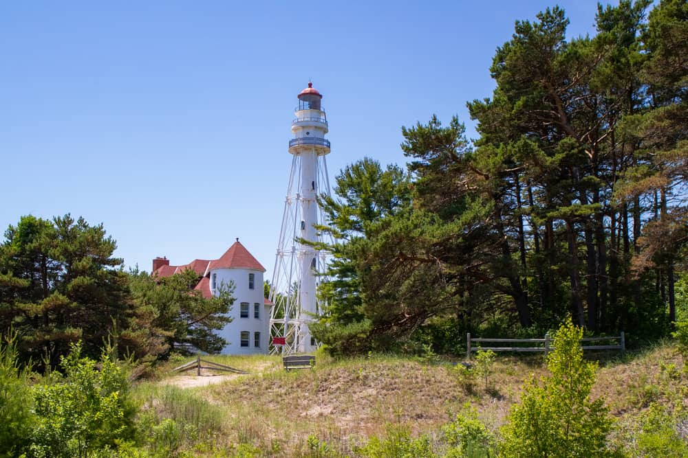 Point Beach State Forest, Rawley Lighthouse