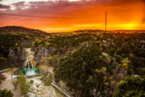 Turner Falls, Arbuckle Mountains