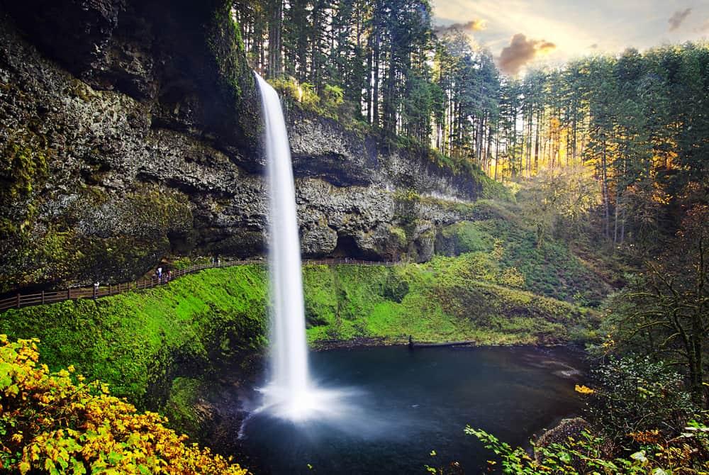 South Falls, Silver Creek State Park